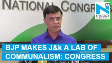 BJP gives communal color to Kashmir issue: Pawan Khera
