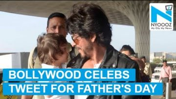 From SRK to Akshay Kumar; Bollywood dads celebrating Father's Day