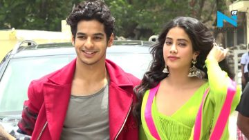 Janhvi Kapoor's GRAND ENTRY at 'Dhadak' trailer launch