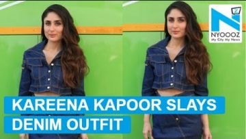 Kareena Kapoor knows exactly how to style denim outfit