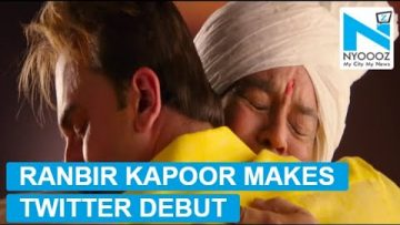 Ranbir Kapoor makes Twitter debut on Father's Day