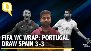 Ronaldo's Hat-Trick Helps Portugal Draw Spain 3-3: FIFA World Cup 2018 | The Quint